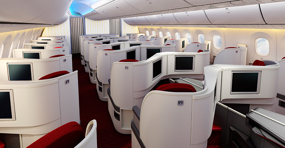 Experience the all new Hainan Airlines 787-9 Dreamliner